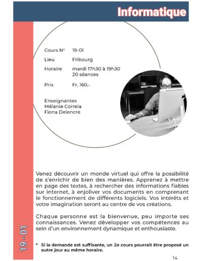 19-01 Informatique