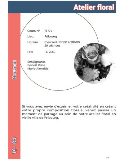 19-04 Atelier floral