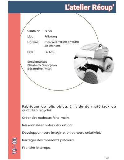 19-06 Atelier Récup