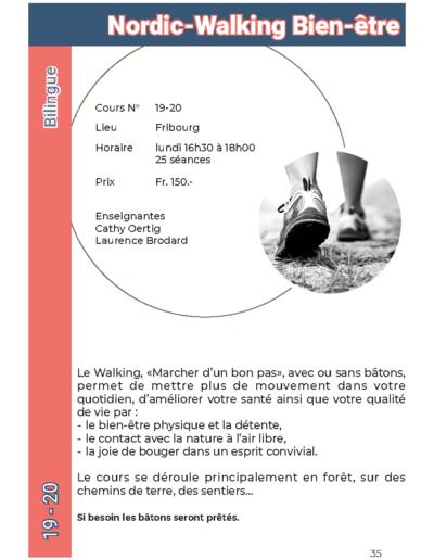 19-20 Nordic-Walking Bien-être