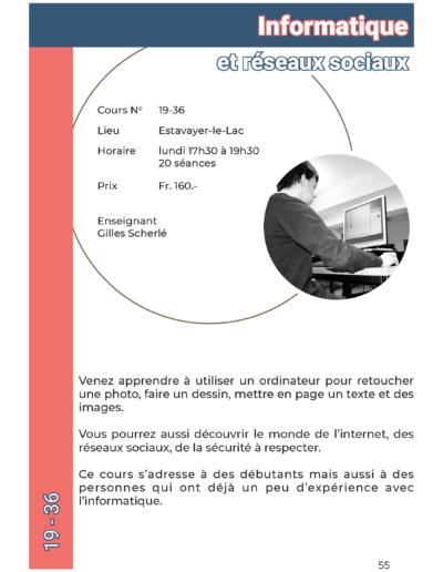19-36 Informatique et réseaux sociaux