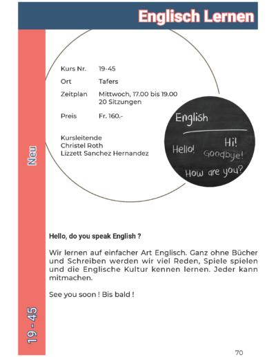 19-45 Englisch Lernen