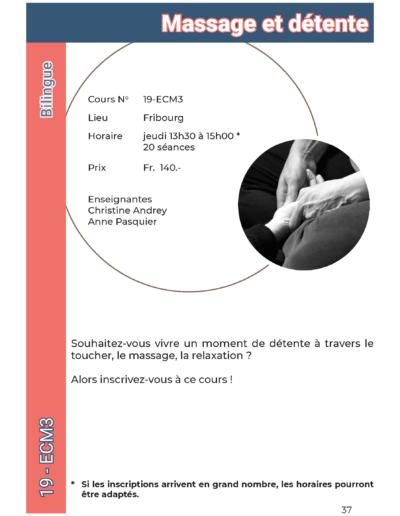 19-ecm3 Massage et détente